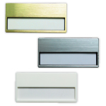Name Tags in Window Insert